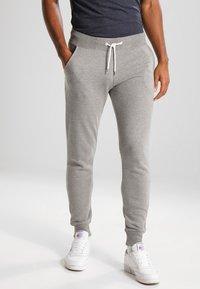 YOURTURN - Pantalones deportivos - light grey melange - 0