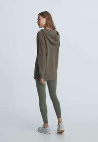 OYSHO - Cardigan - green - 2