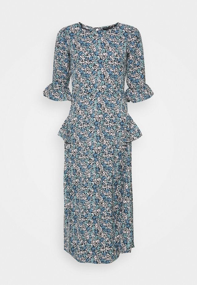 DITSY MIDI FRILL DRESS - Sukienka letnia - blue