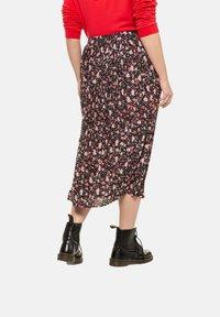 Ulla Popken - A-line skirt - black - 1
