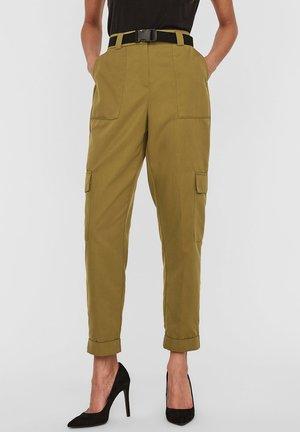 Pantalon cargo - fir green