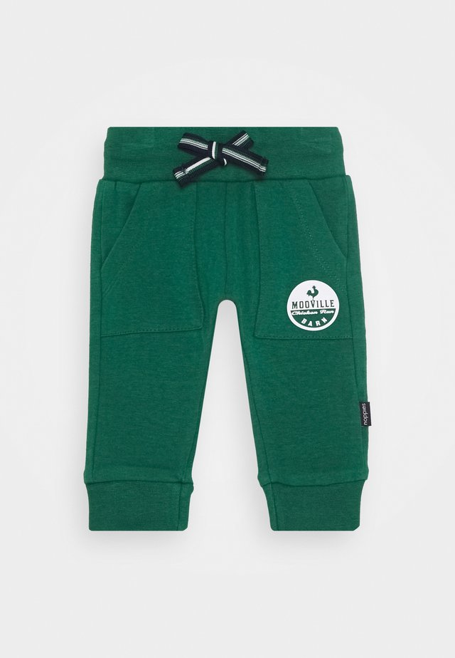 SLIM FIT PANTS LIBODE - Kangashousut - farm green