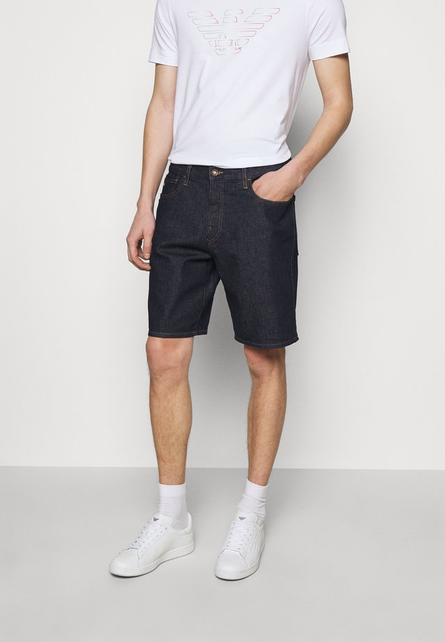 Shorts di jeans - dark blue
