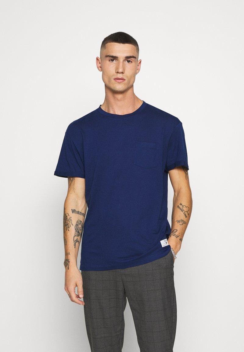 Jack & Jones PREMIUM - JPRVINCENT  - Basic T-shirt - blue