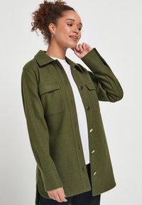Next - Short coat - khaki - 0