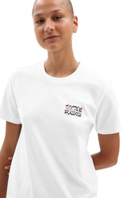 Vans - WM HEAT SEEKER - Print T-shirt - white