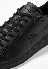 Lacoste - CARNABY EVO - Zapatillas - black - 5