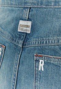 G-Star - LINTELL WRAP SKIRT - A-line skirt - antic faded marine blue - 2