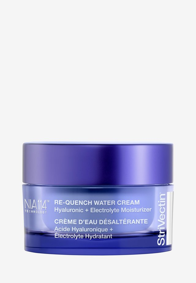RE-QUENCH WATER CREAM HYALURONIC + ELECTROLYTE MOISTURIZER - Dagcrème - -