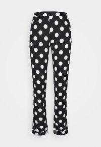 Anna Field - JERSEY AMANDA  - Pyjama - black/white - 2