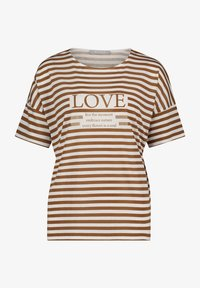 Betty & Co - T-shirt print - weiß/braun - 3