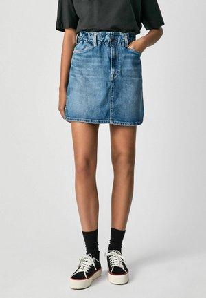 MAISIE - A-line skirt - denim