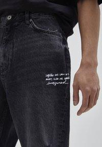 PULL&BEAR - Jeans baggy - black - 4