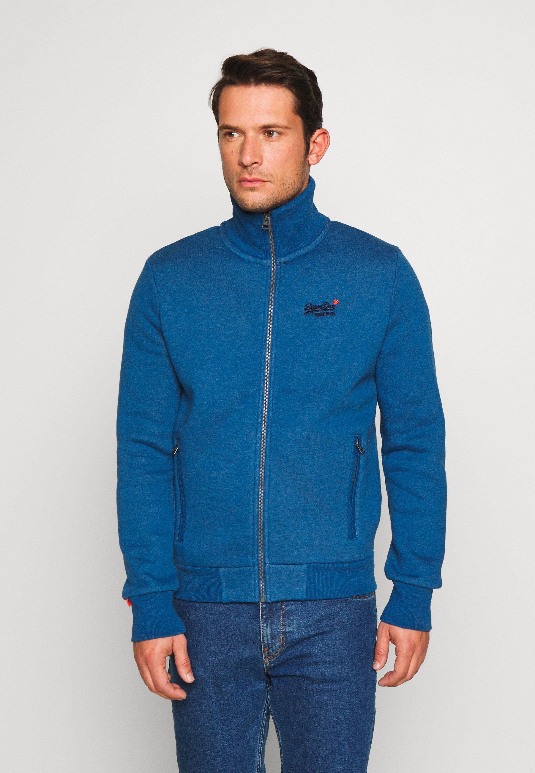 Men CLASSIC TRACK - Zip-up sweatshirt