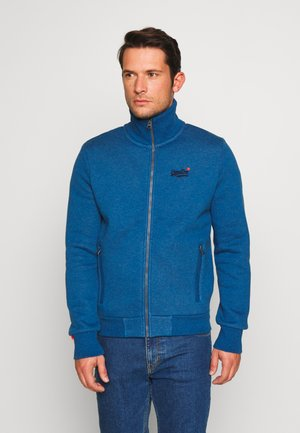 CLASSIC TRACK - Zip-up hoodie - rich blue marl