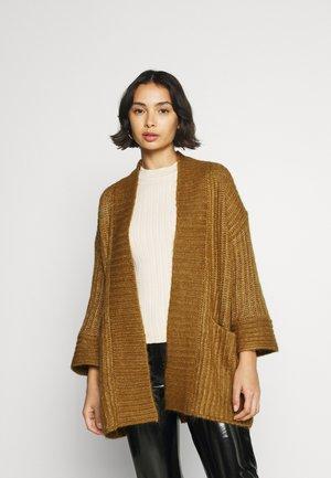 YASSUDANA - Cardigan - bombay brown