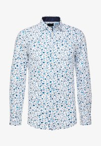 Selected Homme - SLHSLIMNEW MARK - Formal shirt - white/big blue - 4