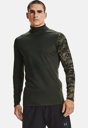 Long sleeved top - baroque green