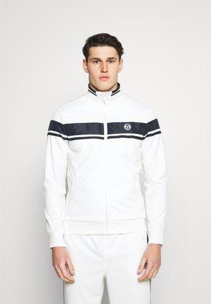 TRACKTOP YOUNGLINE - Sportovní bunda - blanc de blanc/night sky