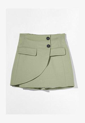 A-snit nederdel/ A-formede nederdele - khaki