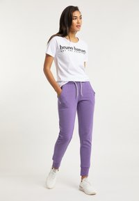 Bruno Banani - Tracksuit bottoms - lila - 2