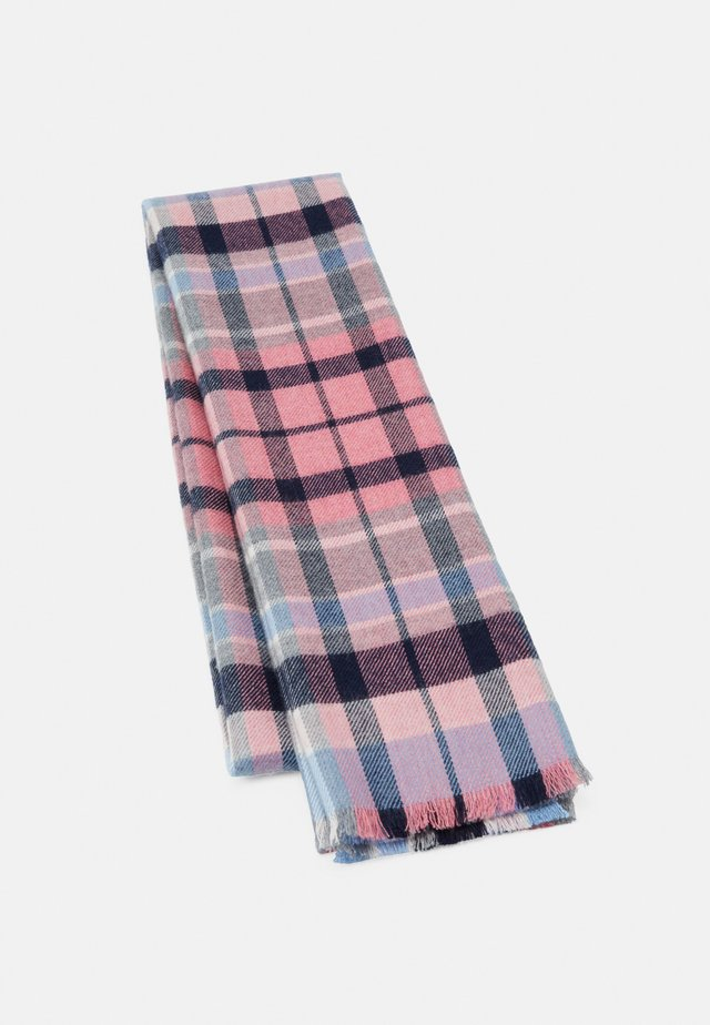 TARTAN SCARF UNISEX - Écharpe - multi-coloured/blue