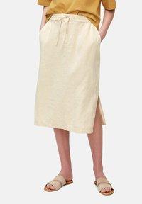 Marc O'Polo - A-line skirt - summer taupe - 0