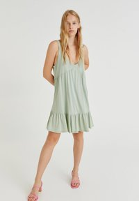 PULL&BEAR - Day dress - green - 1