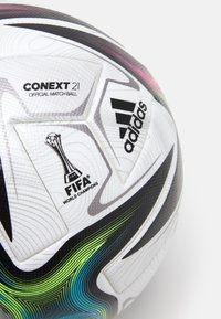 adidas Performance - PRO - Fotbal - white/black/shock pink/silver - 1