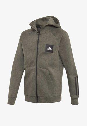 MUST HAVES HOODIE - Zip-up hoodie - brown