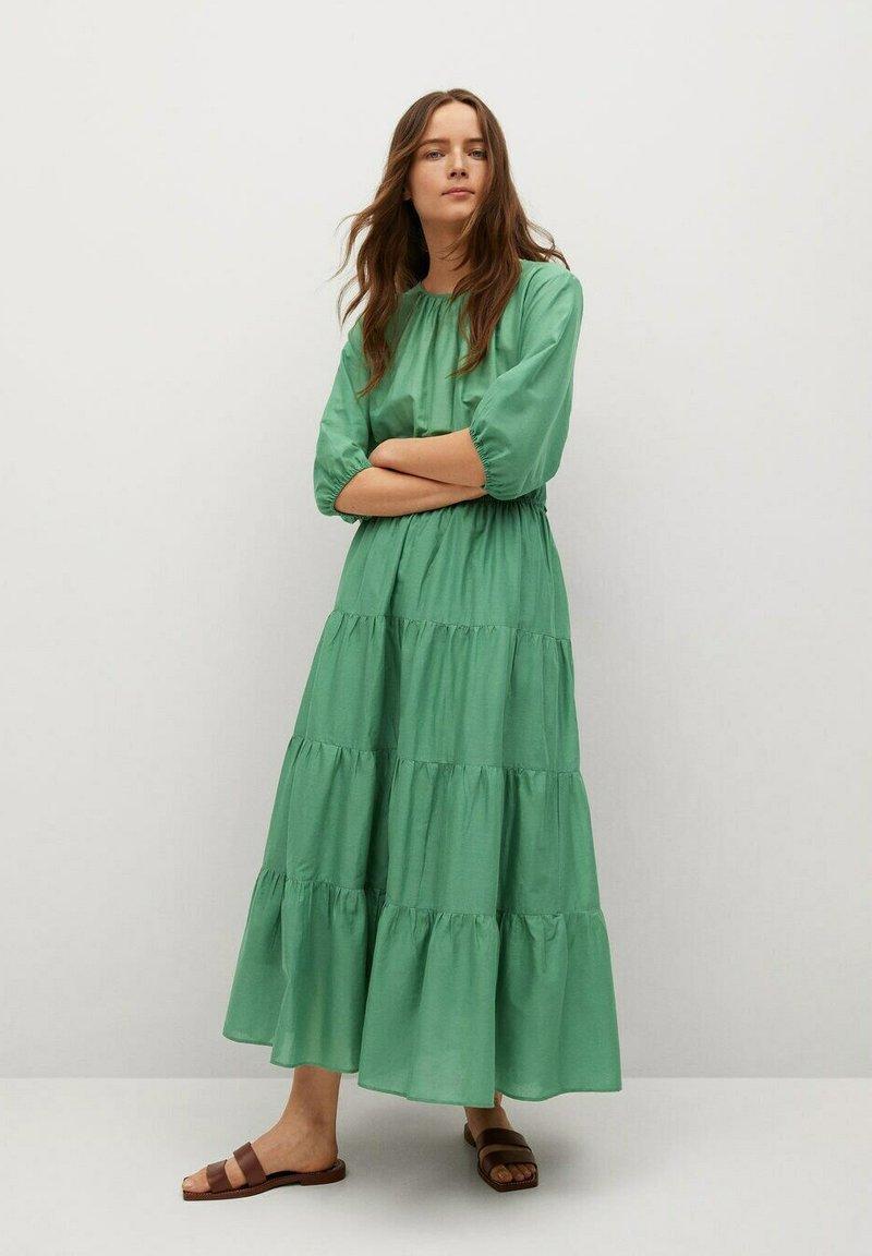 Mango - Maxi dress - grün