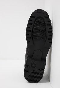 G-Star - POWELL Y BOOT - Nauhalliset nilkkurit - dark black - 4