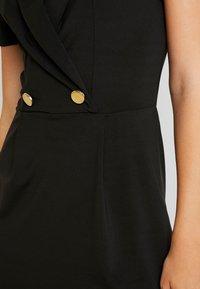 Even&Odd - Vestido de tubo - black - 6