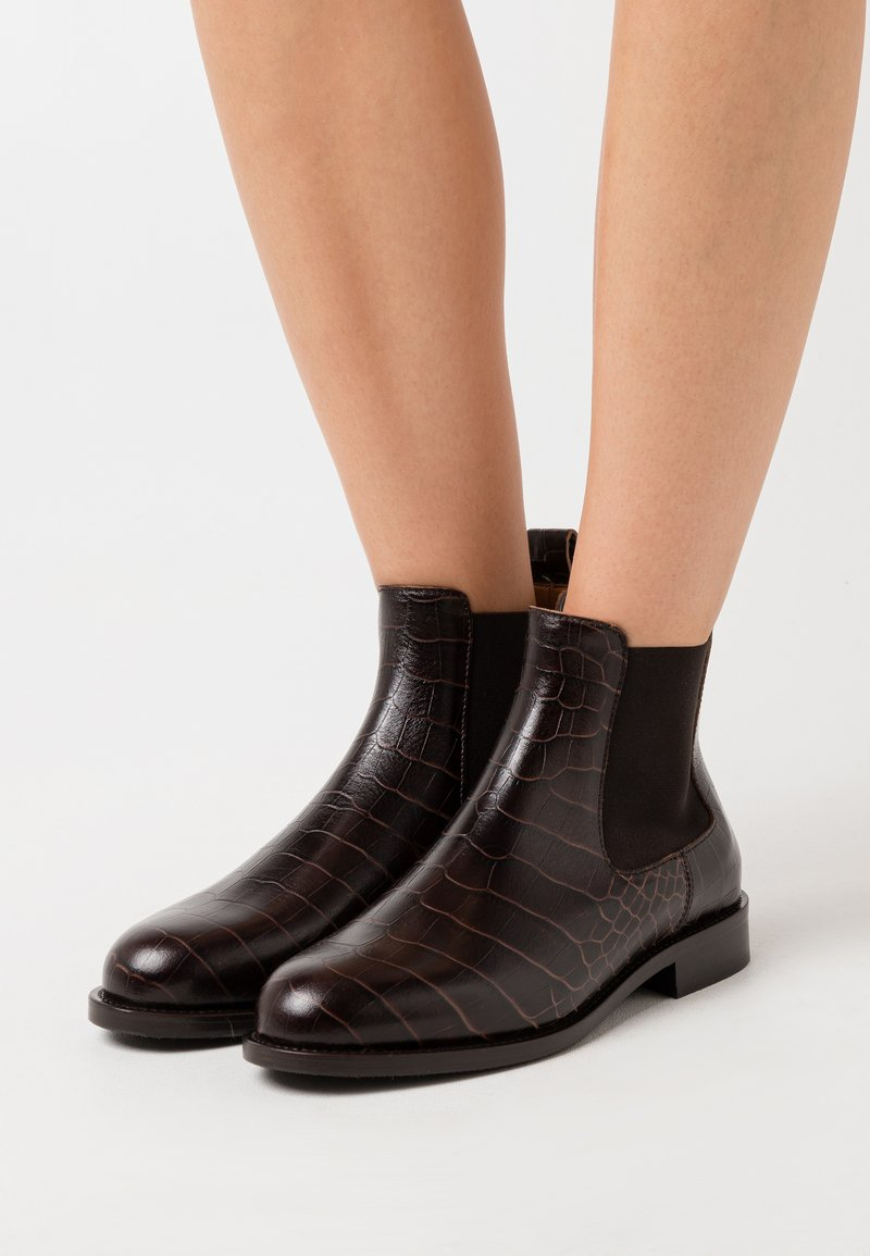 Hash#TAG Sustainable - Ankle boots - cocco kuso caffe