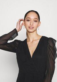 Vila - VIELLIAN DRESS - Day dress - black - 3