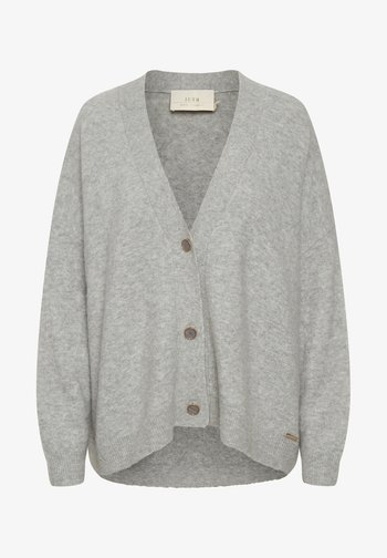 NORA - Cardigan - frost gray melange