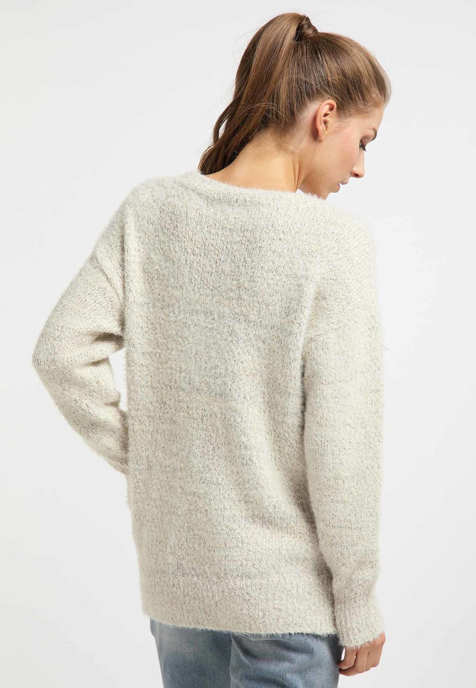 myMo Pullover - wollweiss YfdQj0bb