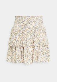 VIGREIS SHORT SKIRT - Mini skirt - cloud dancer