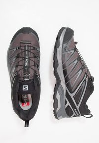 Salomon - X ULTRA 3 GTX - Fjellsko - black/magnet/quiet shade