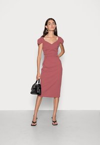 WAL G. - ANNIE MIDI DRESS - Cocktail dress / Party dress - dusty rose pink - 1