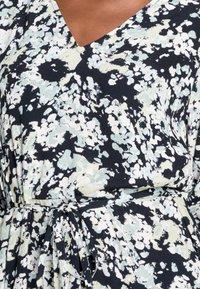 Moss Copenhagen - THESSA JALINA DRESS - Maxi dress - cap blur - 4
