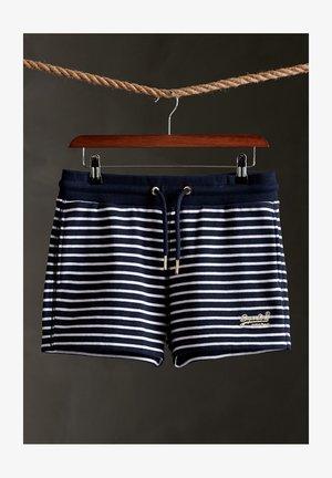 CLASSIC  - Shortsit - navy stripe