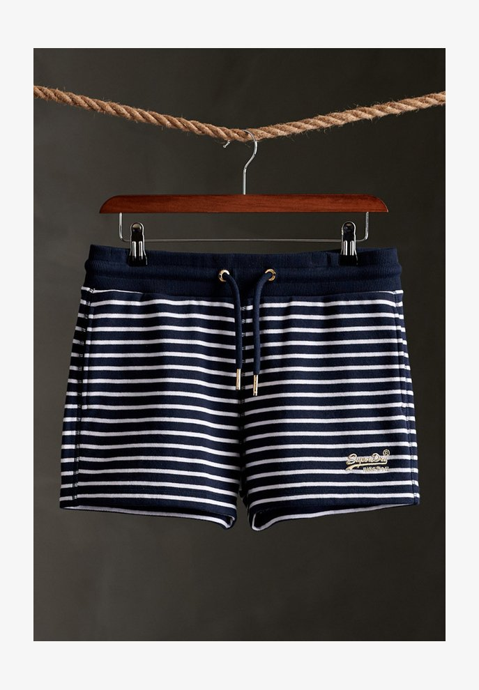 Superdry - CLASSIC  - Shorts - navy stripe