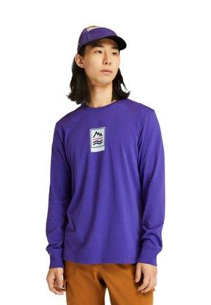 Pitkähihainen paita - deep blue