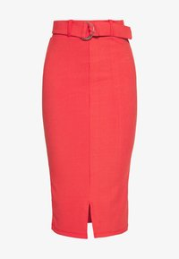 4th & Reckless - NORA SKIRT - Pencil skirt - red