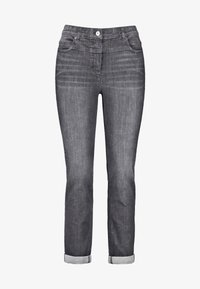 Samoon - BETTY - Relaxed fit jeans - black denim - 3