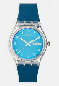 Swatch - BLUE AWAY - Watch - blue - 0