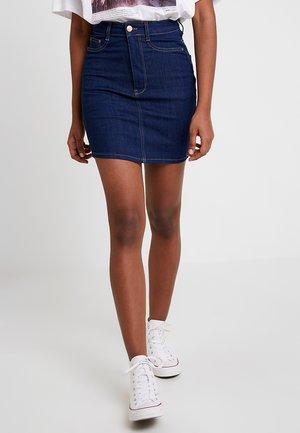 MOLLY SKIRT - Denim skirt - rinse