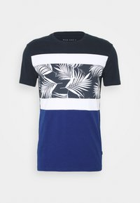 Pier One - T-shirt imprimé - blue - 0