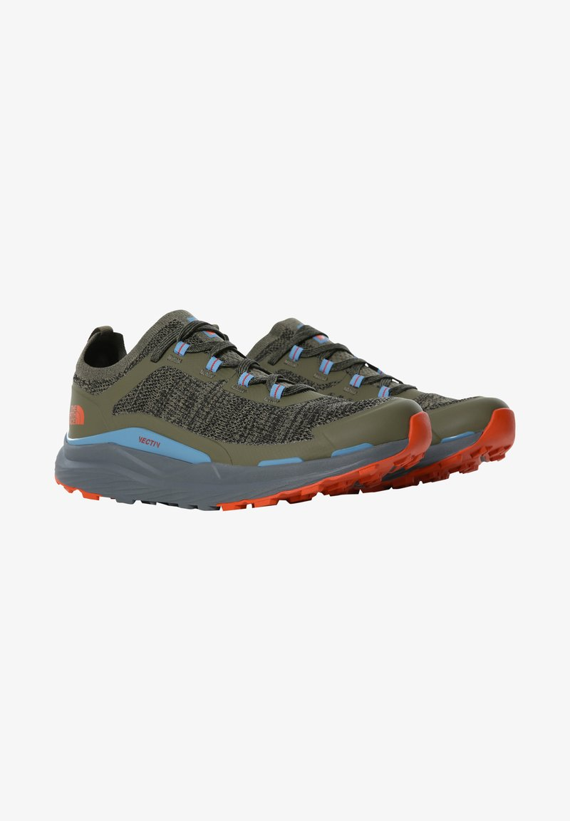 The North Face - ESCAPE - Hikingskor - new taupe green zinc grey